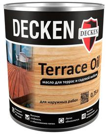 Масло для террас DECKEN Terrace Oil