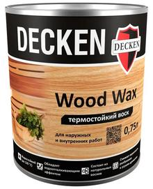 Воск для бани и сауны DECKEN Wood Wax